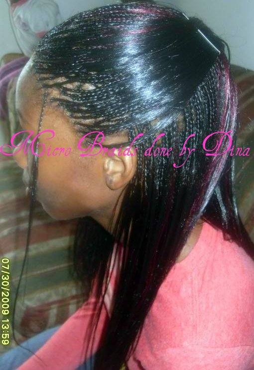 Micro Braid Hair Colors 111